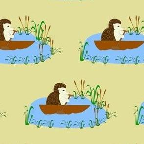 Canoeing Hedgehog