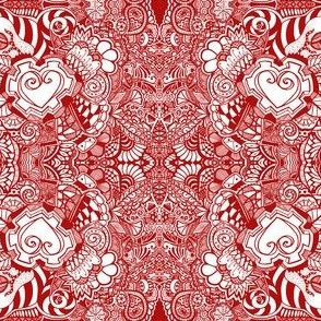 Red Heart Tangles