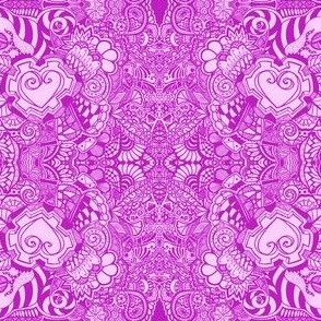 Pink Heart Knots
