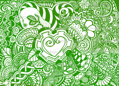 Green Heart Knots