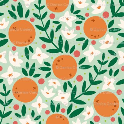 Summer Orange Blossons