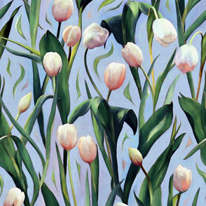 Waiting on the Blooming - Tulips
