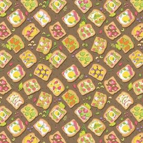 toasts pattern