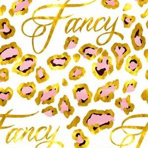 Fancy in Gold Leopard