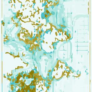 Aqua Map Crib Sheet