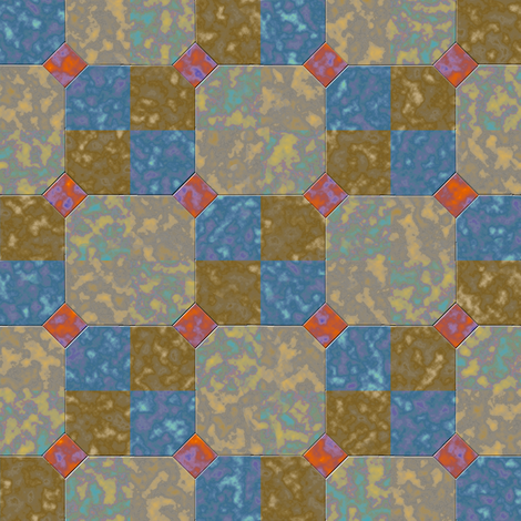 Bowtie Tiles 3 fabric by eclectic_house on Spoonflower - custom fabric