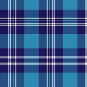 Earl of St. Andrews / St. Andrews District tartan, 8""