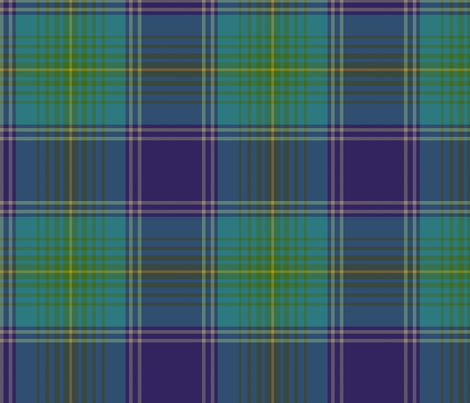 Earl of St. Andrews / St. Andrews District tartan fabric by weavingmajor on Spoonflower - custom fabric