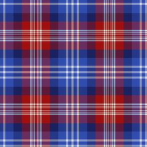 "American St. Andrews Society / US Bicentennial tartan, 9"""