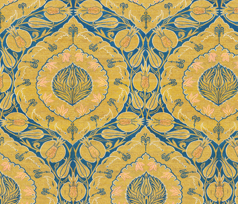 Zubaidah fabric by wanderingaloud on Spoonflower - custom fabric