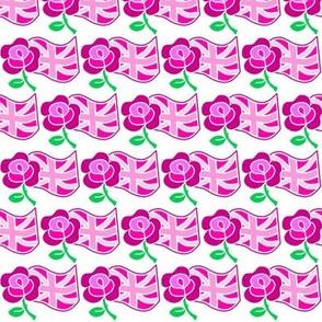 PINK Rose & Union Jack