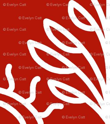 Scandinavian Winter Red White