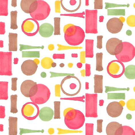 Dashes and Dots - large fabric by atlas_&_tootsie on Spoonflower - custom fabric
