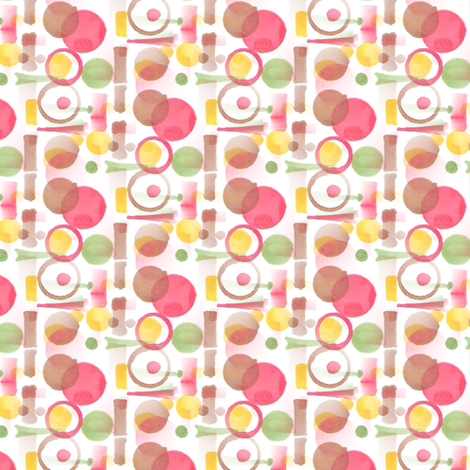 Dashes and Dots fabric by atlas_&_tootsie on Spoonflower - custom fabric