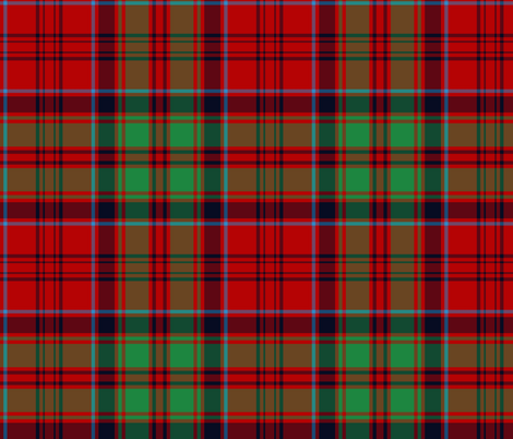 Grant tartan alternate fabric by weavingmajor on Spoonflower - custom fabric