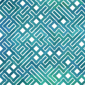 Maze Teal