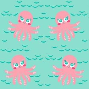 Not Inky Octopus! - Summer Daydream - © PinkSodaPop 4ComputerHeaven.com