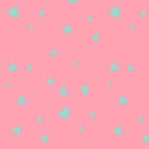 Triangles Beachy Peachy - Summer Daydream - © PinkSodaPop 4ComputerHeaven.com