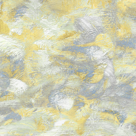 Abstract paint swirl yellow and grey fabric for Yellow and gray paint
