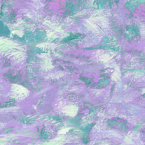 abstract paint swirls - teal and purple fabric by weavingmajor on Spoonflower - custom fabric