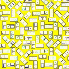 DominoTiles_Yellow_Background
