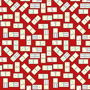 DominoTiles_Red_Background