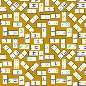 DominoTiles_Gold_Background