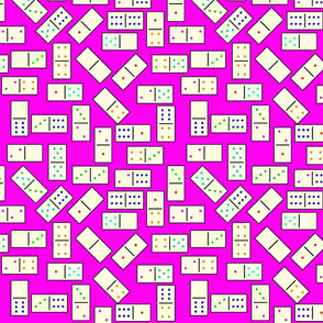 DominoTiles_Pink_Background