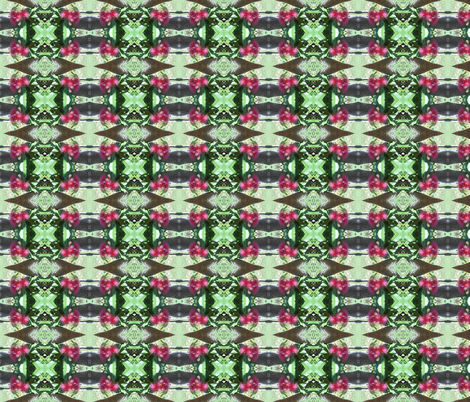 Blossom Kisses - Small Scale (Ref. 1737a) fabric by rhondadesigns on Spoonflower - custom fabric