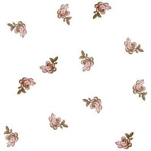 Petite Trianon ~ Rosebud Calico ~ Large
