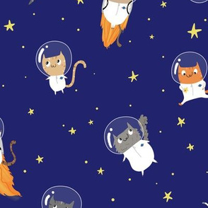 Space Cats - Large