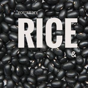 Rice & Beans PILLOW (Beans)