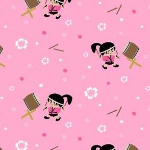 Taiko Drummer Girl