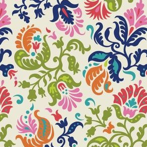 Feathered Damask (4)