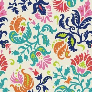Feathered Damask (4b)