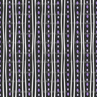 Midnight Stripe (Dark Purple)