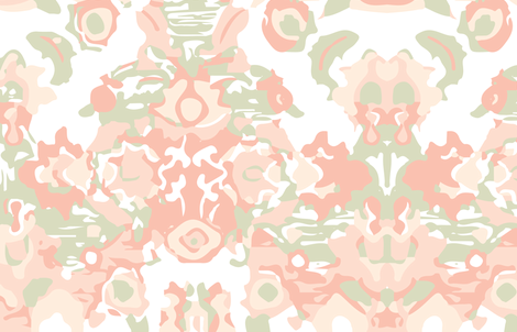 Pink Camo Watercolor fabric by j_durham on Spoonflower - custom fabric