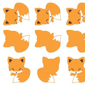 Sleepy Fox Pillows