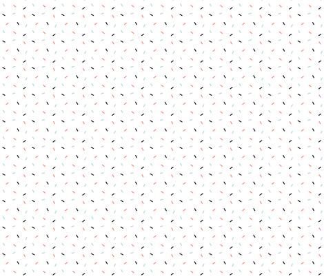 Sprinkles - White fabric by sarahmariemcg on Spoonflower - custom fabric