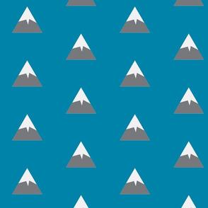 Snowy Mountain Blue