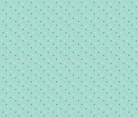 Sprinkles - Mint fabric by sarahmariemcg on Spoonflower - custom fabric