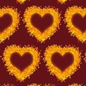 I Love Autumn- Maroon