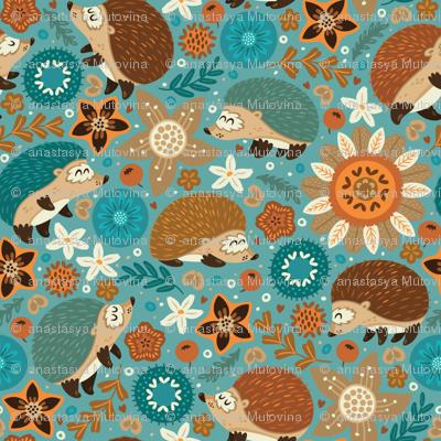 little hedgehogs