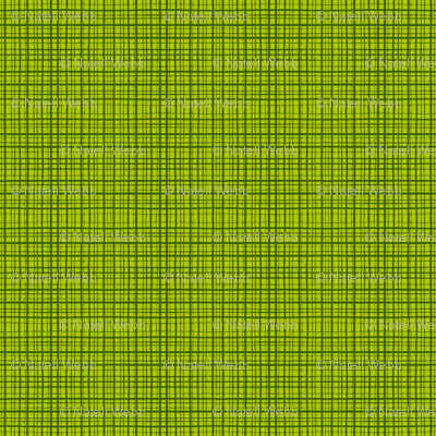CrossHatch - Dark Lime