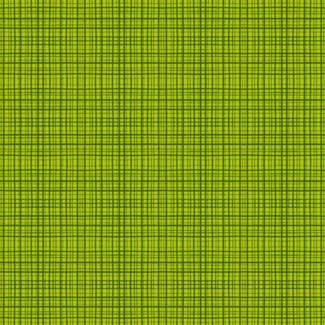 CrossHatch - Dark Lime fabric by tanglewebb on Spoonflower - custom fabric