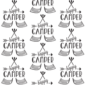 Happy Camper - Black