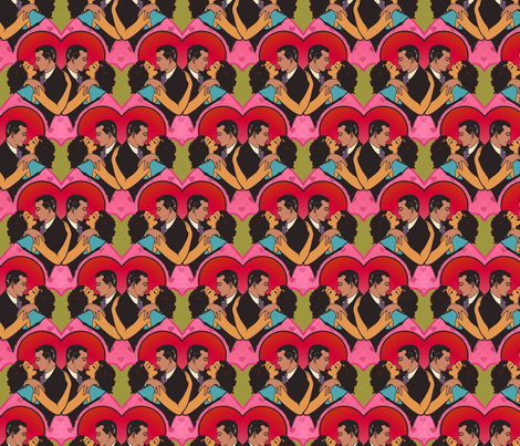 romance2 fabric by hannafate on Spoonflower - custom fabric