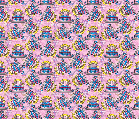 birthday2 fabric by hannafate on Spoonflower - custom fabric
