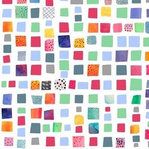 Little squares - white