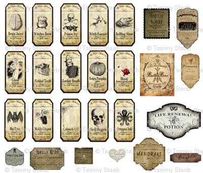 Potion Labels